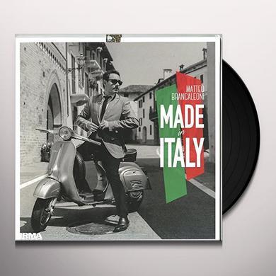 Matteo Brancaleoni / Fabrizio Bosso / Renzo Arbore MADE IN ITALY Vinyl Record