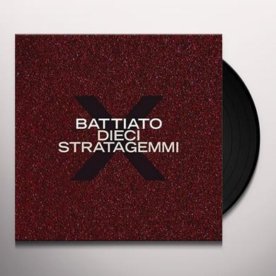 Franco Battiato DIECI STRATAGEMMI Vinyl Record - Italy Import
