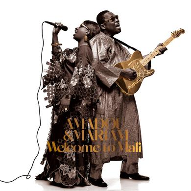 Amadou & Mariam WELCOME TO MALI Vinyl Record - UK Import