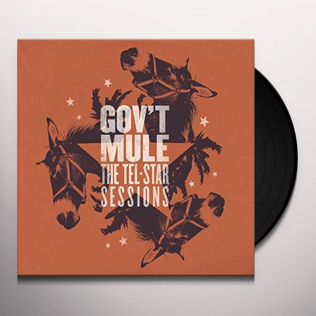 Govt Mule TEL-STAR SESSIONS Vinyl Record - 180 Gram Pressing, Digital Download Included, UK Import