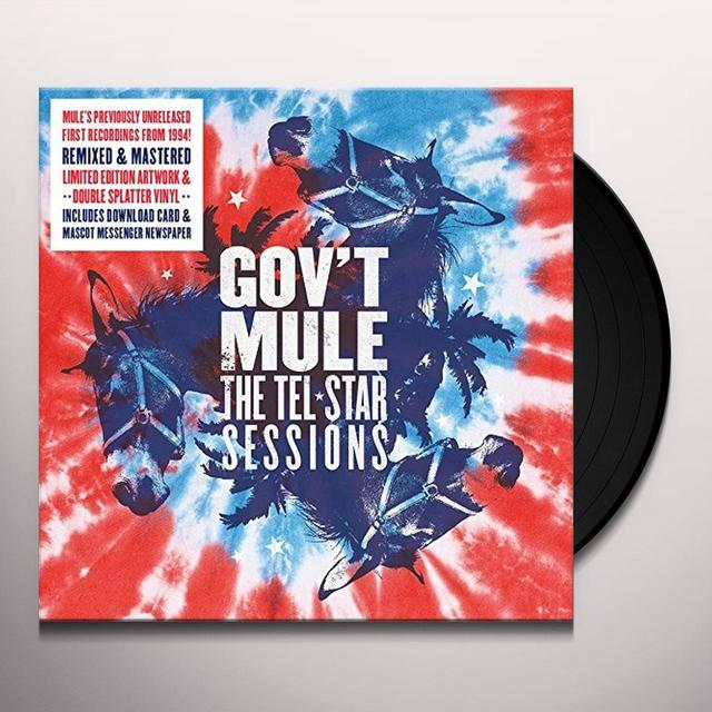 Govt Mule TEL-STAR SESSIONS: LIMITED (SPLATTER VINYL) Vinyl Record - Colored Vinyl