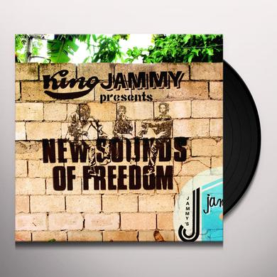 KING JAMMY PRESENTS NEW SOUNDS OF FREEDOM Vinyl Record - UK Release