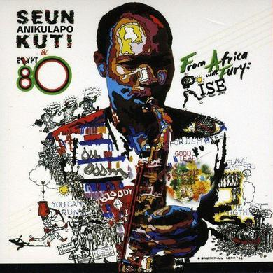 Seun Kuti & Egypt 80 FROM AFRICA WITH FURY: RISE Vinyl Record