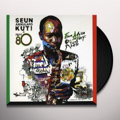 Seun Kuti & Egypt 80 FROM AFRICA WITH FURY: RISE Vinyl Record - UK Import