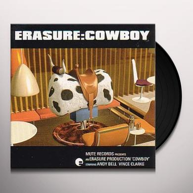 Erasure COWBOY Vinyl Record - UK Import
