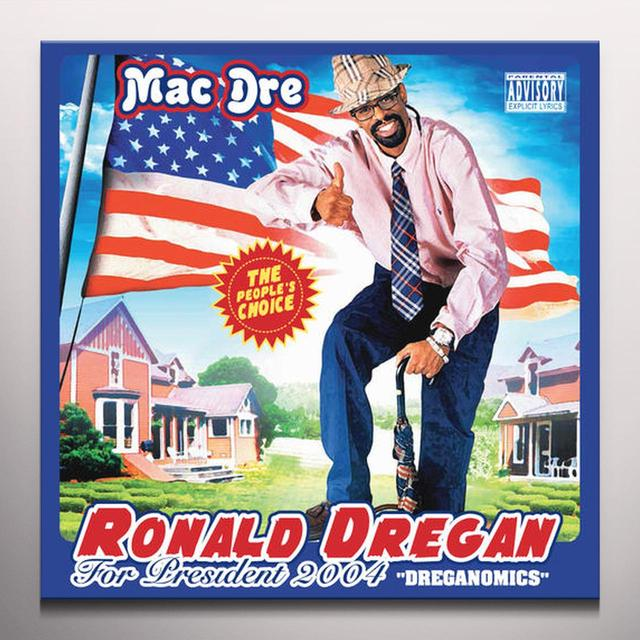 Mac Dre RONALD DREGAN - DREGANOMICS Vinyl Record - Colored Vinyl