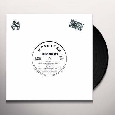 Lee Perry & Upsetters KEEP ON DUBBING Vinyl Record