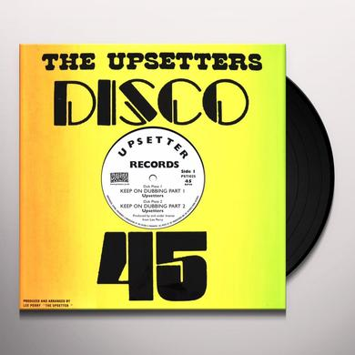 Lee Perry & Upsetters KEEP ON DUBBING (SILK SCREEN SLEEVE)  (EP) Vinyl Record - 10 Inch Single