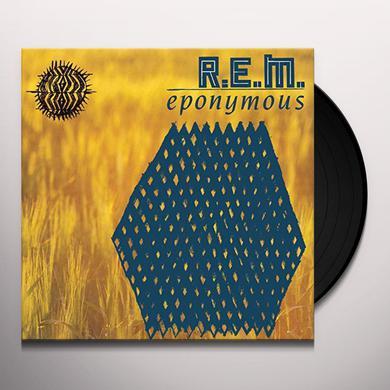 R.E.M. EPONYMOUS Vinyl Record