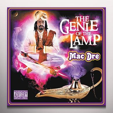 Mac Dre GENIE OF THE LAMP Vinyl Record - Clear Vinyl, Purple Vinyl