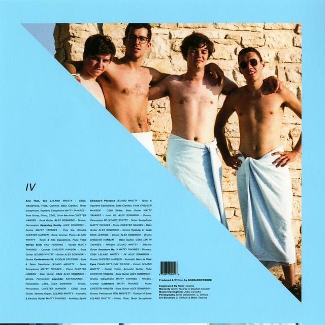 Badbadnotgood IV Vinyl Record - Digital Download Included