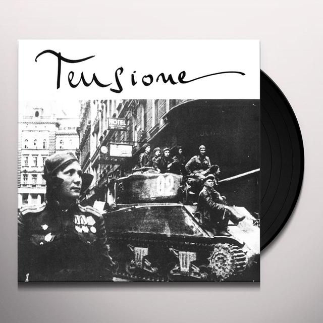 Piero Umiliani As Moggi TENSIONE Vinyl Record