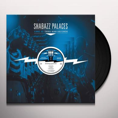 Shabazz Palaces LIVE AT THIRD MAN RECORDS Vinyl Record