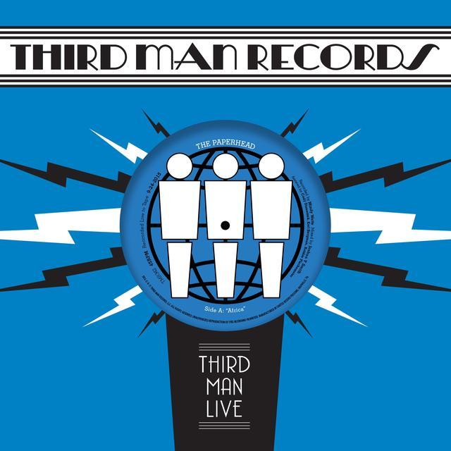 Paperhead AFRICA / LITTLE KID BLUES Vinyl Record