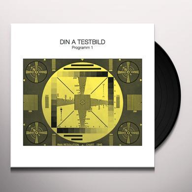 Din A Testbild PROGRAMM 1 Vinyl Record