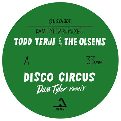 Todd Terje & Olsens DAN TYLER REMIXES Vinyl Record