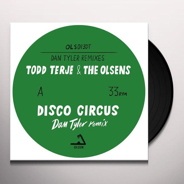 Todd Terje & Olsens DAN TYLER REMIXES Vinyl Record - 10 Inch Single
