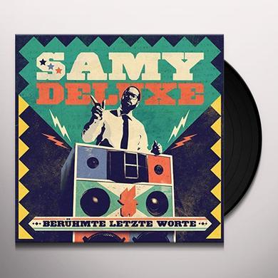 Samy Deluxe BERUEHMTE LETZTE WORTE (GER) Vinyl Record