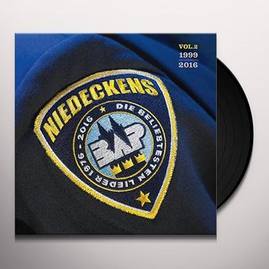 NIEDECKENS BAP DIE BELIEBTESTEN LIEDER VOL 2: 1999-2016 Vinyl Record
