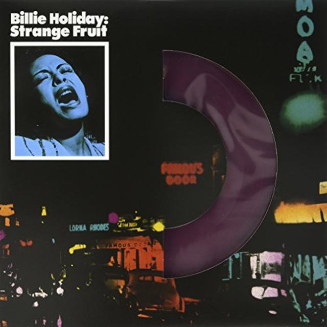 Billie Holiday STRANGE FRUIT Vinyl Record - Colored Vinyl, UK Import