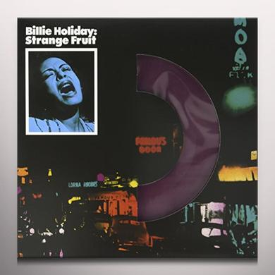 Billie Holiday STRANGE FRUIT Vinyl Record - Colored Vinyl, UK Import