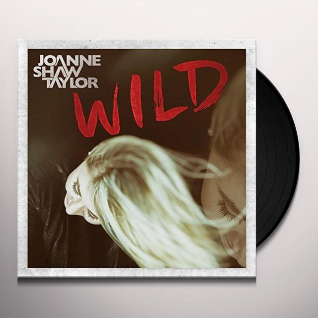 Joanne Shaw Taylor WILD: DELUXE EDITION Vinyl Record - Deluxe Edition, UK Release