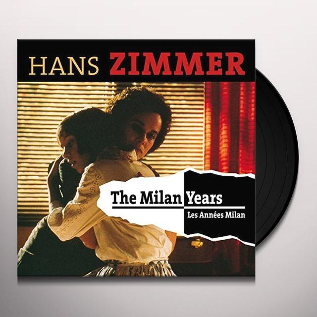 Hans Zimmer MILAN YEARS (HK) Vinyl Record