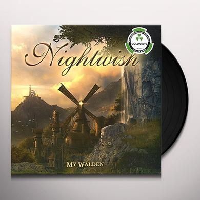 Nightwish MY WALDEN - GOLD Vinyl Record - Holland Import