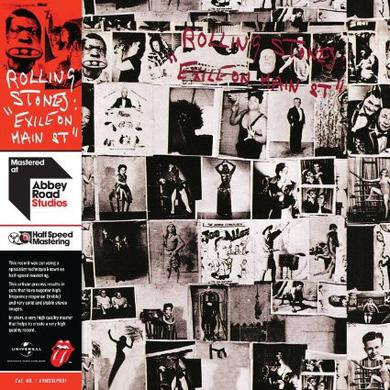 The Rolling Stones EXILE ON MAIN STREET: HALF SPEED MASTERING Vinyl Record