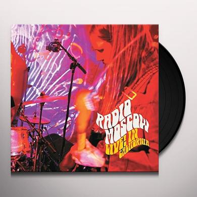 Radio Moscow LIVE IN CALIFORNIA Vinyl Record - Gatefold Sleeve, Poster