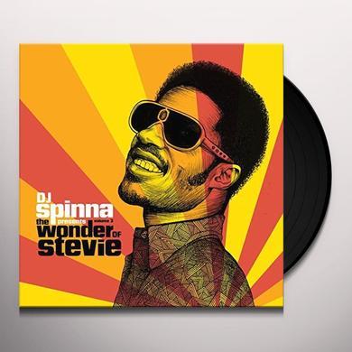 DJ SPINNA PRESENTS THE WONDER OF STEVIE 3 / VAR Vinyl Record