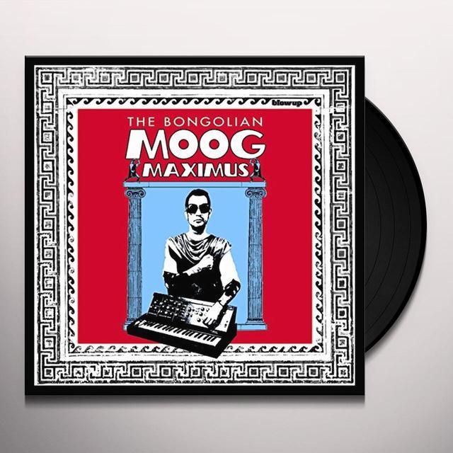 The Bongolian MOOG MAXIMUS Vinyl Record - 180 Gram Pressing, Digital Download Included
