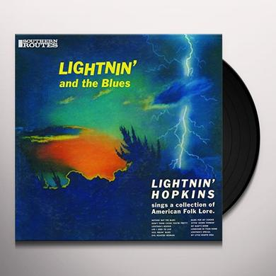 Lightnin' Hopkins on Spotify LIGHTNIN' AND THE BLUES Vinyl Record