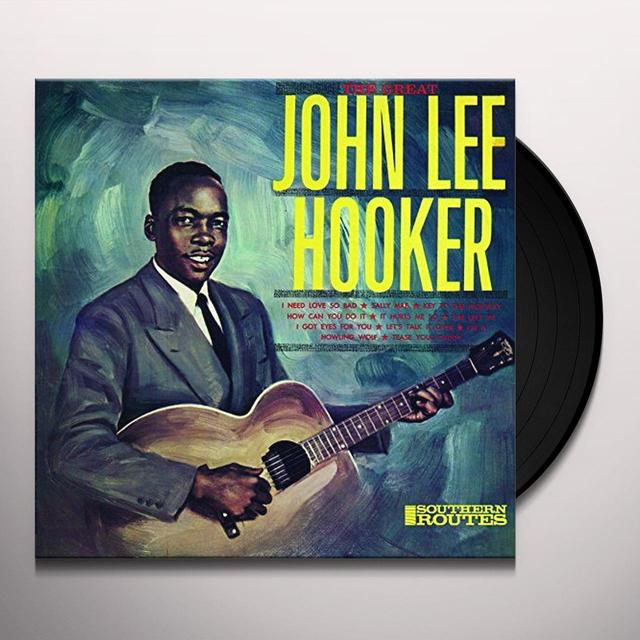 John Lee Hooker GREAT Vinyl Record