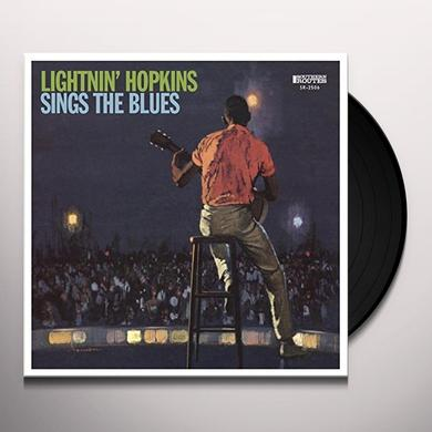 Lightnin' Hopkins on Spotify SINGS THE BLUES Vinyl Record