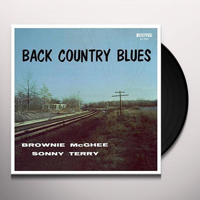 Brownie Mcghee BACK COUNTRY BLUES Vinyl Record