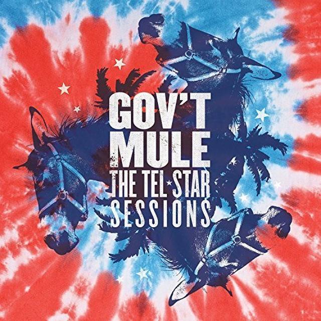 Govt Mule TEL-STAR SESSIONS Vinyl Record - Gatefold Sleeve