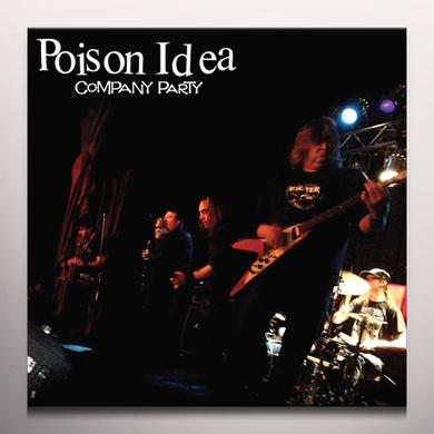 Poison Idea COMPANY PARTY Vinyl Record - Limited Edition, Pink Vinyl