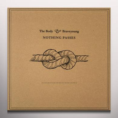 BODY & BRAVEYOUNG NOTHING PASSES Vinyl Record - Colored Vinyl