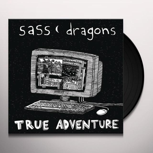 Sass Dragons TRUE ADVENTURE Vinyl Record