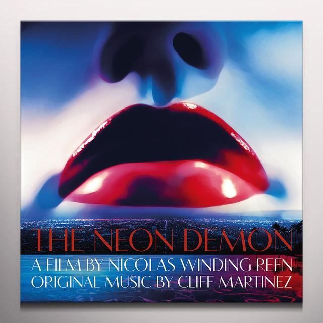 Cliff Martinez NEON DEMON / O.S.T. Vinyl Record - Blue Vinyl, Colored Vinyl, Green Vinyl, Digital Download Included
