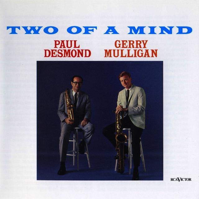 Paul Desmond / Gerry Mulligan TWO OF A MIND Vinyl Record - 180 Gram Pressing