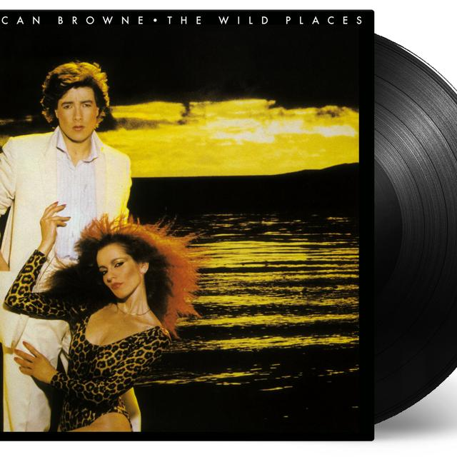 Duncan Browne WILD PLACES Vinyl Record - 180 Gram Pressing