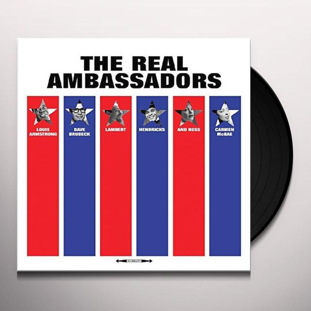 REAL AMBASSADORS / VARIOUS (UK) REAL AMBASSADORS / VARIOUS Vinyl Record - UK Import