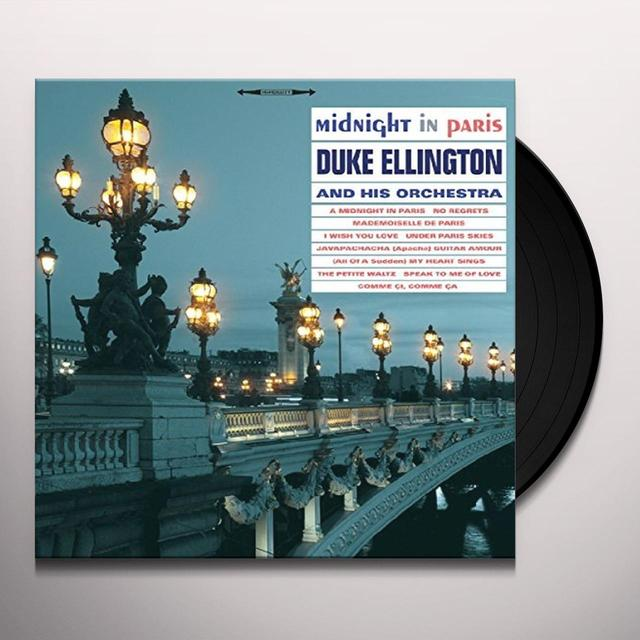 Duke Ellington MIDNIGHT IN PARIS Vinyl Record - UK Import