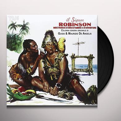 Guido De Angelis / Maurizio IL SIGNOR ROBINSON MOSTRUOSA STORIA D'AMORE E Vinyl Record