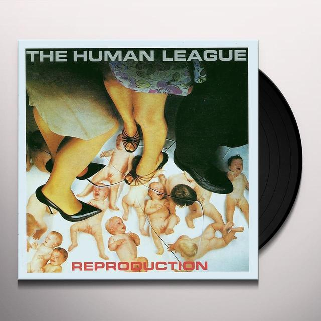 Human League REPRODUCTION Vinyl Record - UK Import