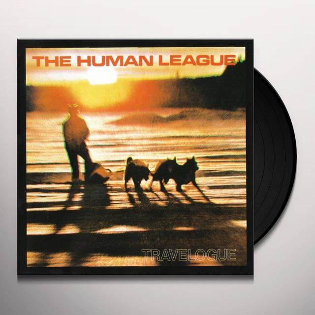 Human League TRAVELOGUE Vinyl Record - UK Import
