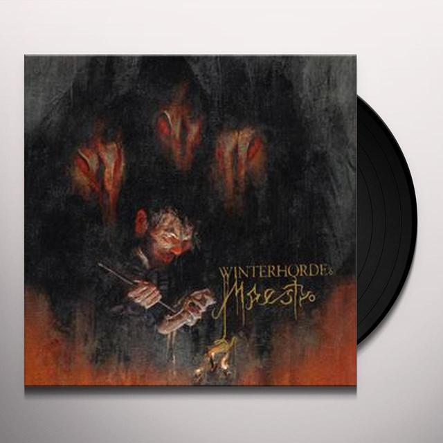 WINTERHORDE MAESTRO Vinyl Record - Black Vinyl, Limited Edition, 180 Gram Pressing