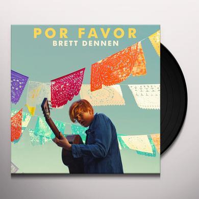 Brett Dennen POR FAVOR Vinyl Record